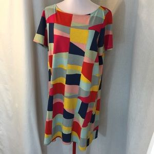 Tory Burch color block dress